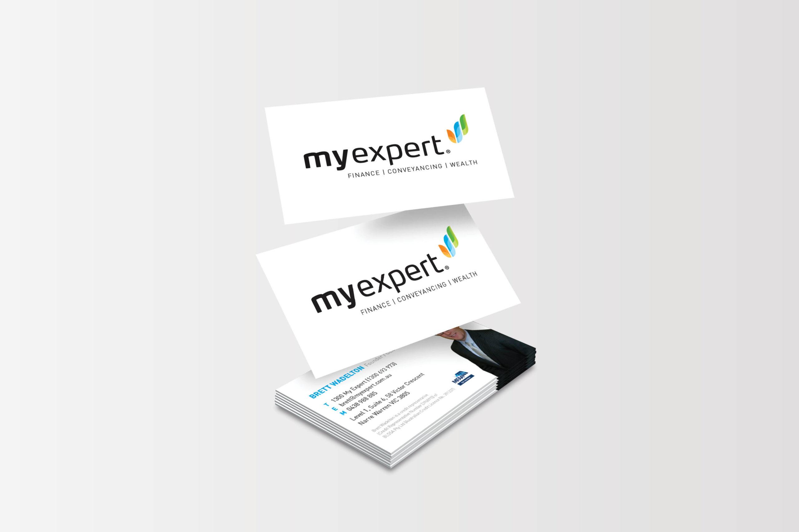 My Expert Business Card Design